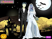 Play Halloween couple dressup Game