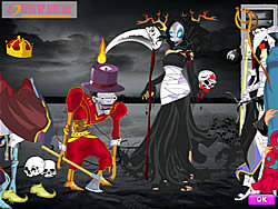 Scary Halloween Dressup game