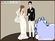 Play Getting married dressup Game