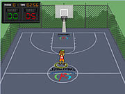 Play Spalding shoot out Game