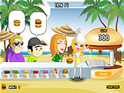 Play Burger run Game