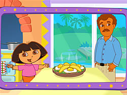 Jogar jogo grátis Dora's Cooking in La Cucina