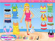 Play Volleyball dressup Game