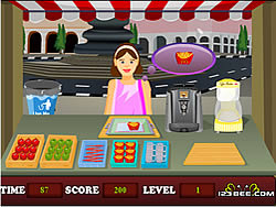 Toffee Shop game