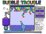 Play The bubble trouble game Game