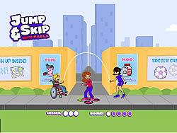 Gioca gratuitamente a Jump & Skip with Carla