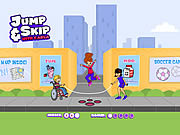 Play Jump skip with carla Game