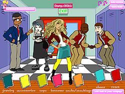 Popular Girl Dressup game