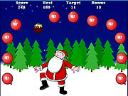 Play Santa keepy uppy Game