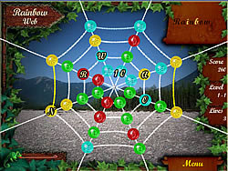 Gioca gratuitamente a Rainbow Web