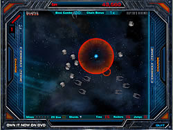 Battlestar Galactica Razor game