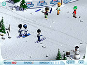Play Ski slope showdown Game