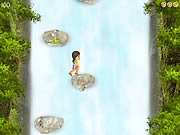Play Jess waterfall jumps Game