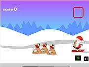 Santa Snowboards game