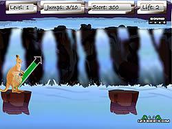 Jumping Kangaroo game