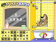 Johnny Test - Dukey Bath game