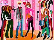 Play Happy couple dressup Game