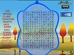 Word Search Gameplay 4 - Cards παιχνίδι