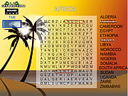 Play Word search gameplay 5 africa Game