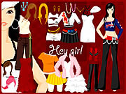 Play Hey girl dressup Game