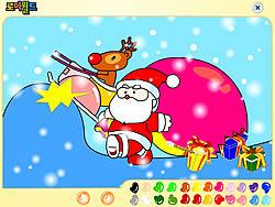 Santa Claus Painting