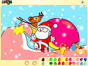 Play Santa claus painting Game