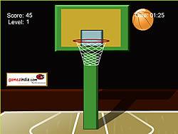 Crazy Basket game