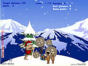 Play Stoneage santa Game