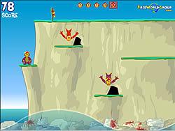 Maglaro ng libreng laro Monkey Cliff Diving