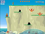Play Monkey cliff diving Game