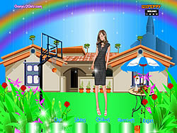 Danielle Dressup game
