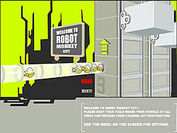 Robot Monkey City game
