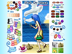Style Up Susan game