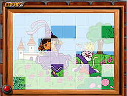 Gioca gratuitamente a Sort My Tiles Dora the Queen