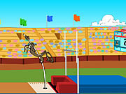 Play Wile e cayotes pole vault challenge Game