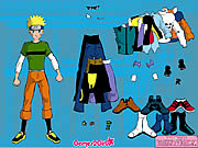 Play Naruto dressup Game