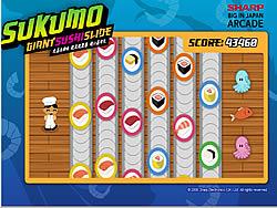 Giant Sushi Slide game