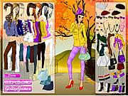 Jogar jogo grátis Autumn in the Park Dress Up