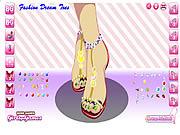 Jogar jogo grátis Fashion Dream Toes