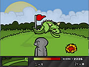 Play Ninja golf Game