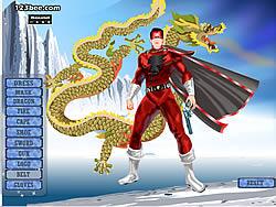 Captain Marvel Dress Up game