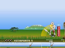 Yeti Sports (Part 5) - Flamingo Drive game
