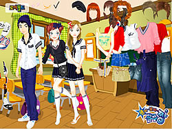 Gioca gratuitamente a Boy And Girl Dress Up