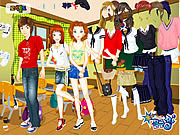 Play Boy and girl dress up Game