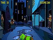 Teenage Mutant Ninja Turtles - Shootdown game