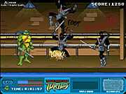 Play Teenage mutant ninja turtles foot clan street brawl Game