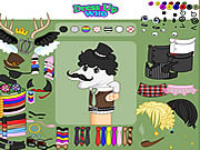 Play Dirty socks dress up Game