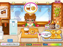 Donut Shop game