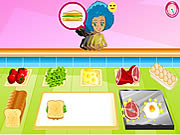 juego Breakfast Sandwich Shop