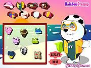 Baby polar bear dress up Gioco